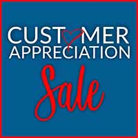 Our Customer Appreciation Sale is going on now at American Flooring Home Decor