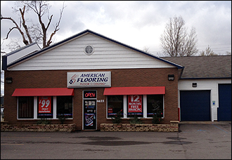Retail flooring store in Holt, MI.